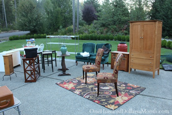 More Tips and Tricks for a Successful Garage Sale