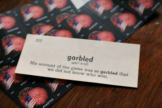 garbled