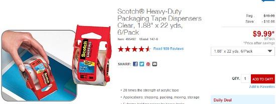 scotch packing tape