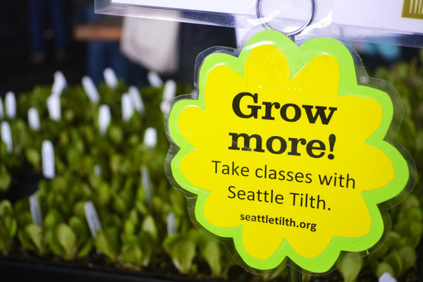 Upcoming Spring Seattle Tilth Events and Classes