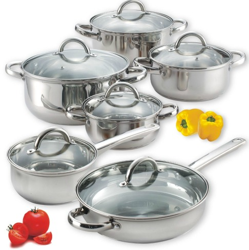 stainless steeel cookware