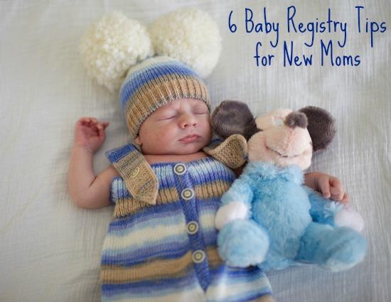 6 Baby Registry Tips for New Moms