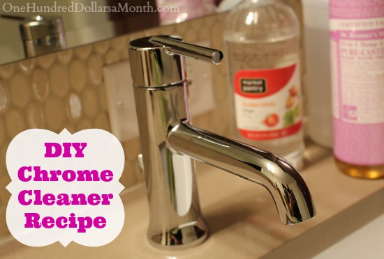DIY Chrome Cleaner Recipe