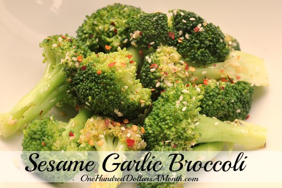 Sesame-Garlic-Broccoli