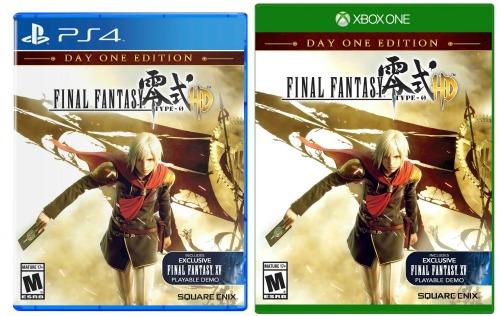 final fantasy xbox ps4