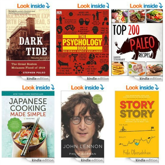 Free Kindle Books, Asparagus with Balsamic-Butter Sauce, Easy Spirit Shoes, Yankee Candles and More