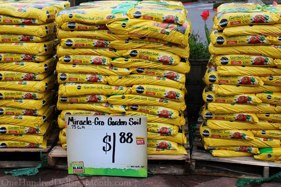 miracle fro potting soil