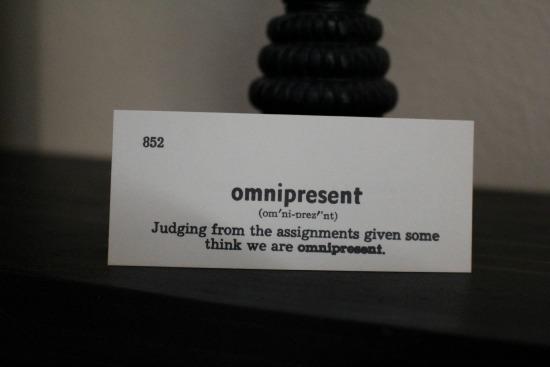omnipresent