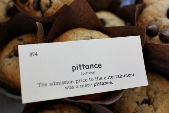 pittance