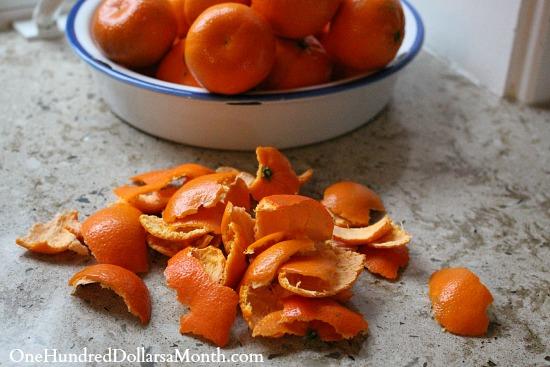 Penny Pinching Tip:  Save Your Orange Peels