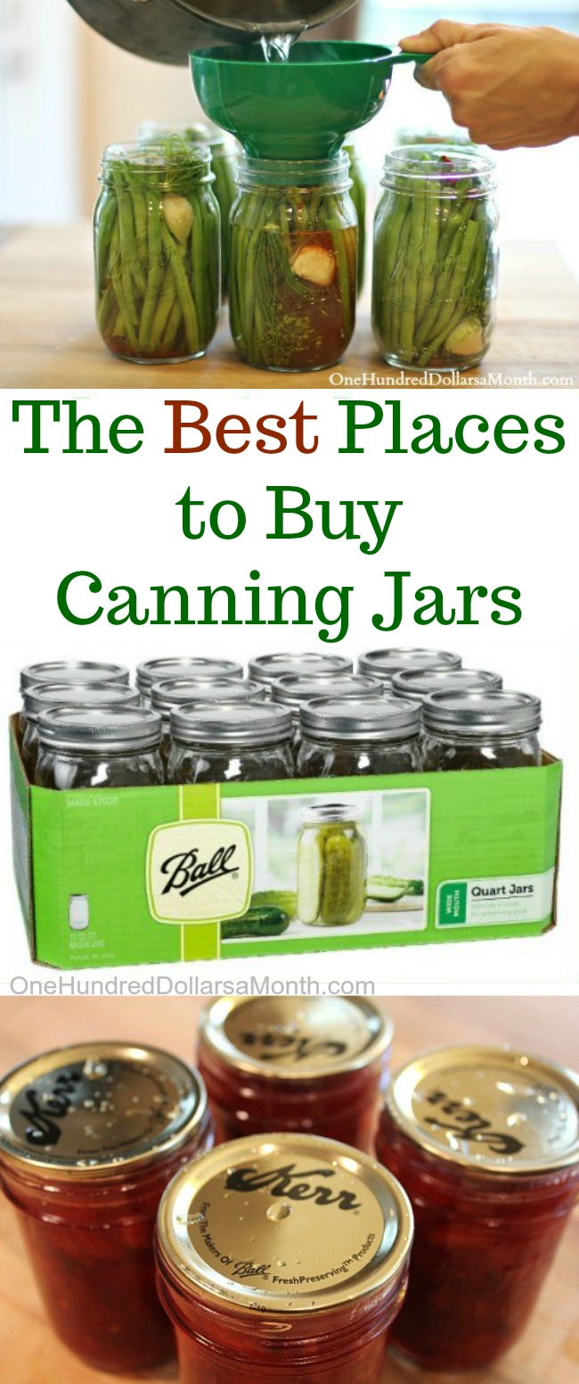 Where is the Best Place to Buy Canning Jars?