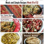 Cooking From Your Pantry | Menu Plan Ideas, Freezer Meals and Simple Recipes Week 19 of 52