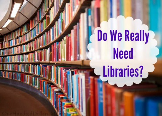 Do We Really Need Libraries?