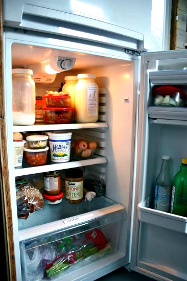 Do Smaller Refrigerators Mean Less Food Waste?