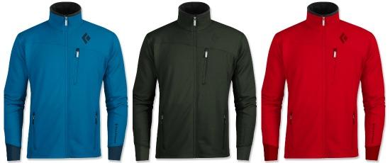 black diamond fleece jacket