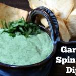garlic spinach dip recipe