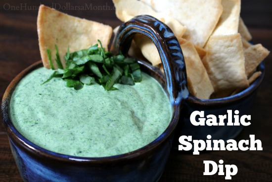 My Favorite Garlic Spinach Dip Recipe