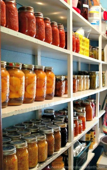 The $20/$20 Challenge: Melissa Shows Us Her Original Canning Pantry