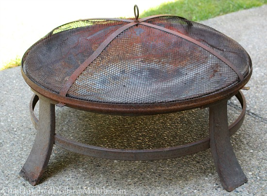 Fixing Up Our Rusted Fire Pit
