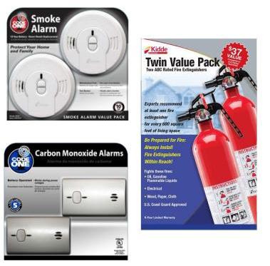 smoke detector kit