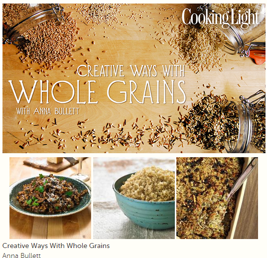 whole grains cooking class