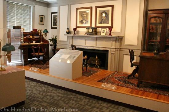 woodrow wilson library