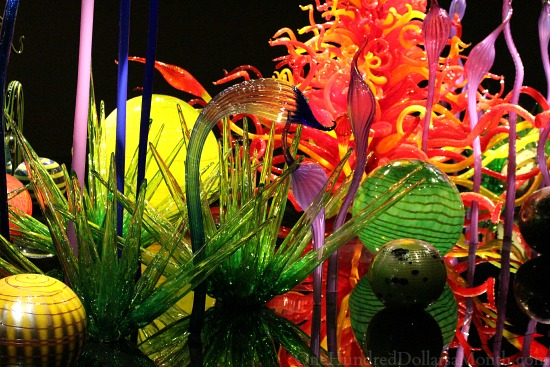 chihuly garden and glass seattle wa one hundred dollars a month