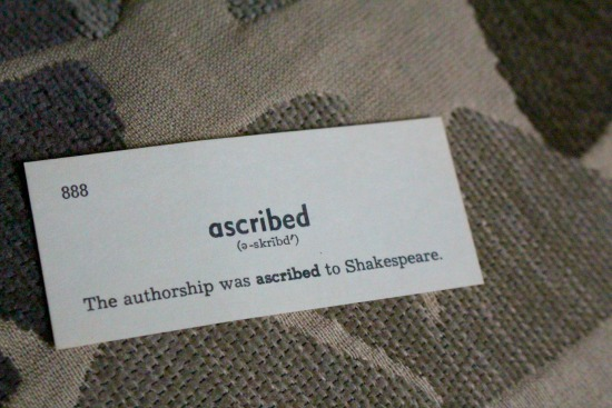 ascribed
