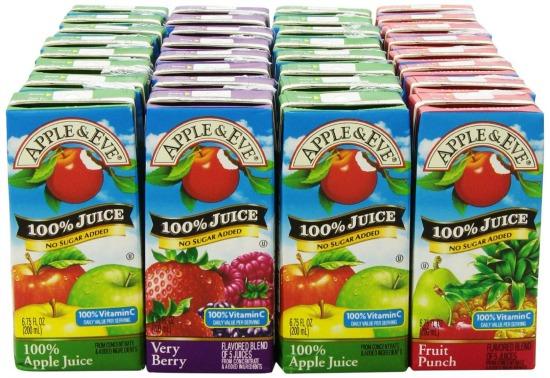 School Bans Juice Boxes
