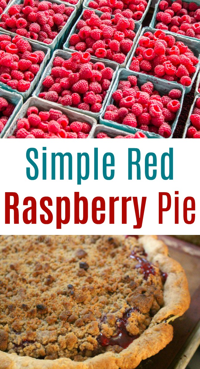 Simple Red Raspberry Pie
