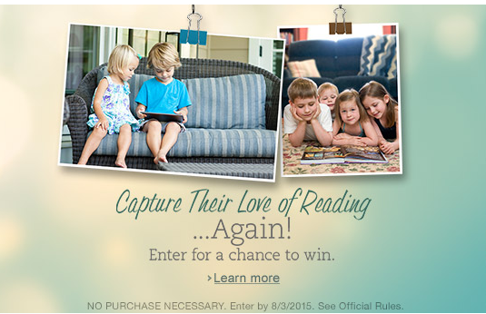 Amazon's Summer Reading Contest: Win a Kindle Prize Pack for the Whole Family