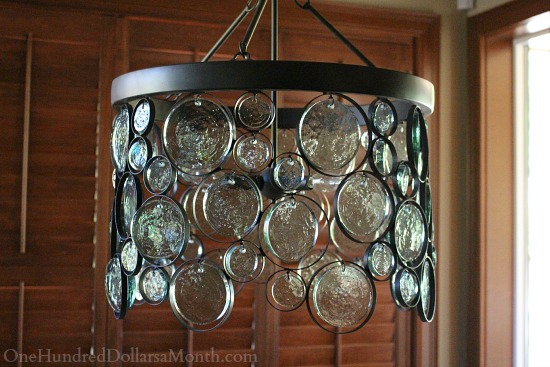 EMERY INDOOROUTDOOR RECYCLED GLASS CHANDELIER