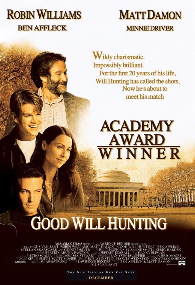Friday Night at the Movies – Good Will Hunting