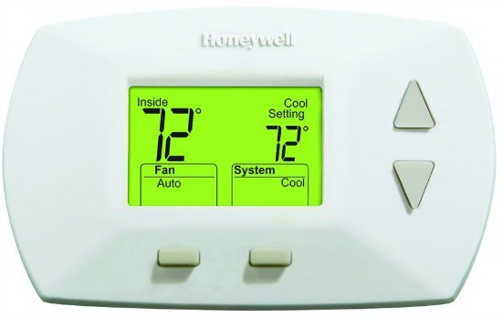 Honeywell Deluxe Digital Non-Programmable Heat Cool Thermostat