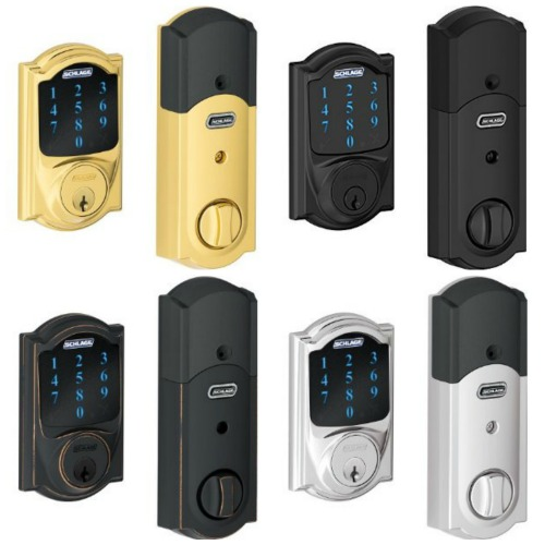 Schlage Connect Touchscreen Deadbolts