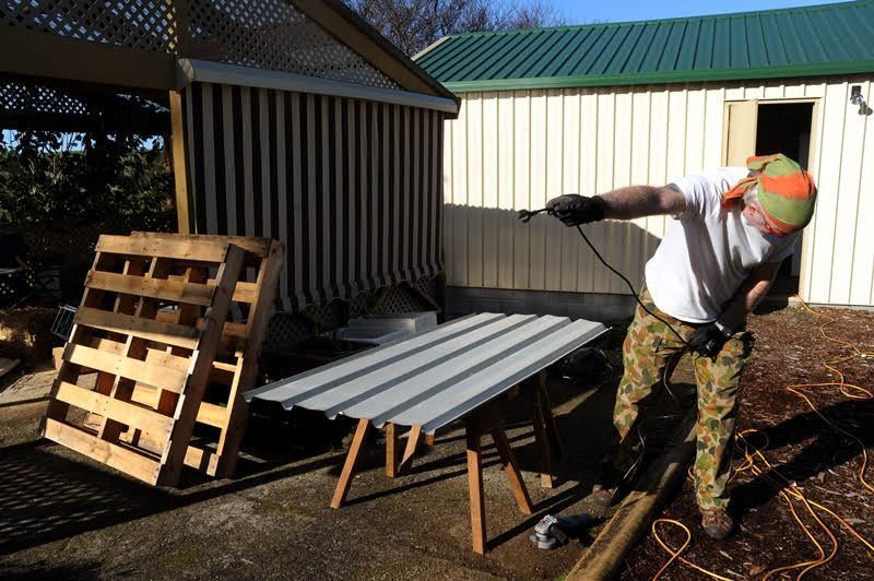 Lisa From Tasmania's Wood Pallet Compost Bin Tutorial