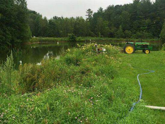 johnnys seed company maine pond tour