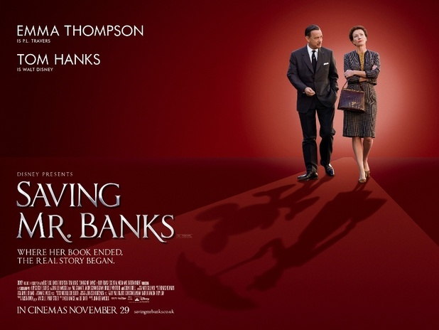 Friday Night at the Movies – Saving Mr. Banks