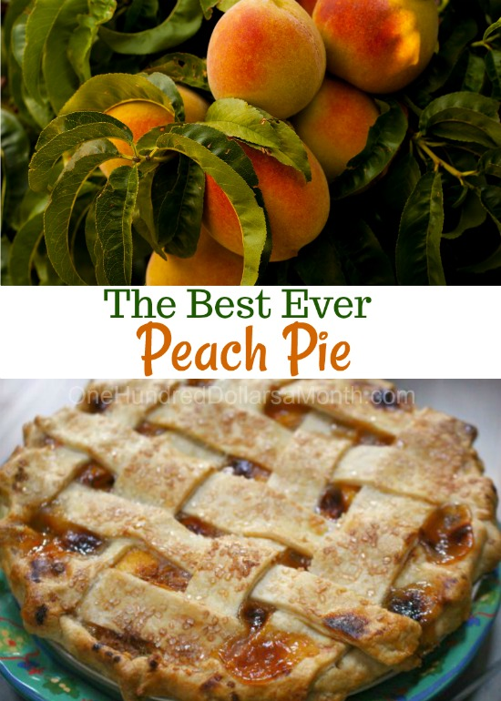 The Best Ever Peach Pie