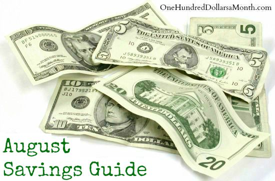 August Monthly Savings Guide – What's on Sale and What's in Season