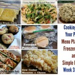 Cooking From Your Pantry | Menu Plan Ideas, Freezer Meals and Simple Recipes Week 32 of 52