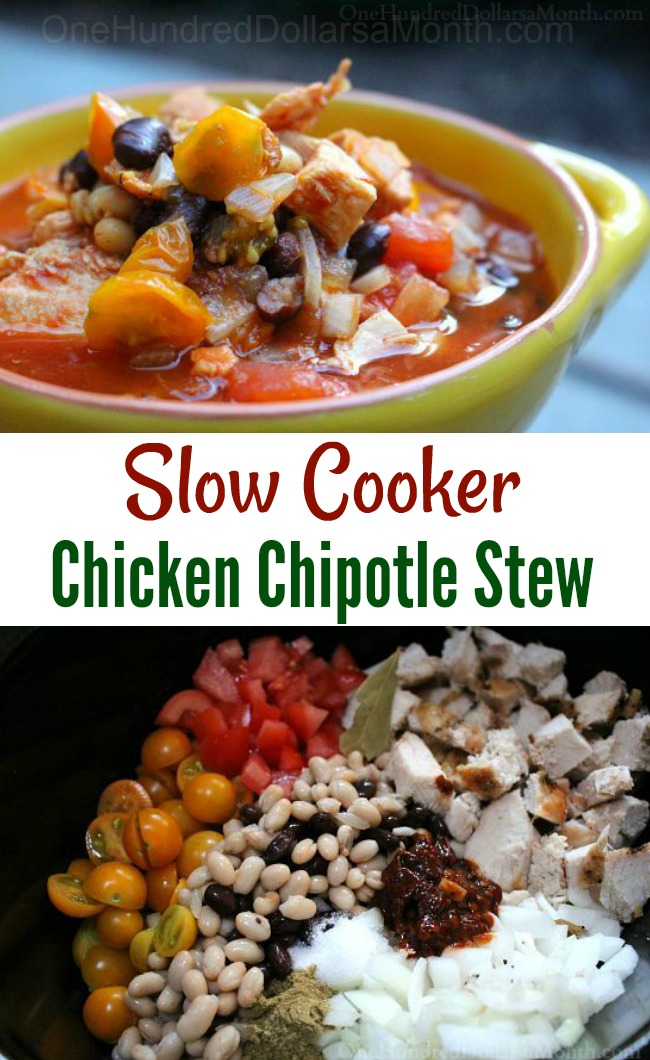Crock Pot Chicken Chipotle Stew