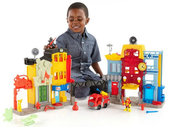Imaginext Rescue City Center