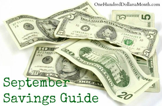 September Monthly Savings Guide – What's on Sale and What's in Season