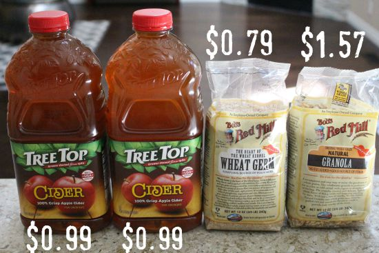 Weekly Grocery Shopping Savings Show and Tell {Week 31 of 52}