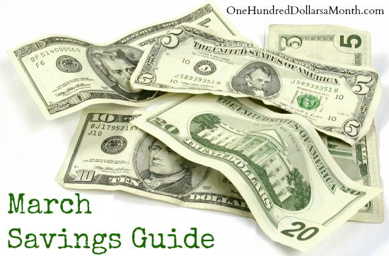 March Monthly Savings Guide – What's on Sale and What's in Season