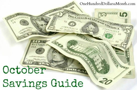 October Monthly Savings Guide – What's on Sale and What's in Season