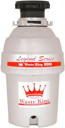 waste king garbage disposal