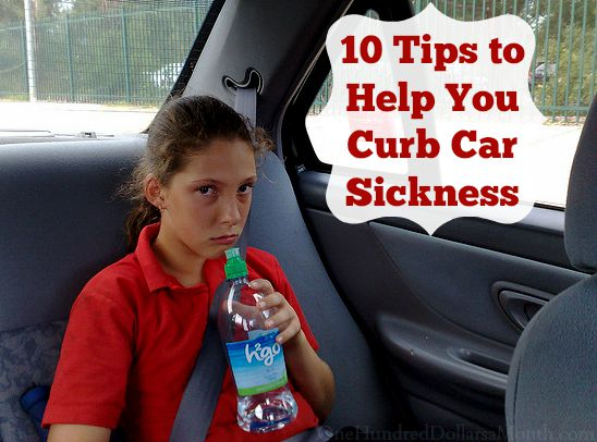 10 Tips to Help You Curb Car Sickness