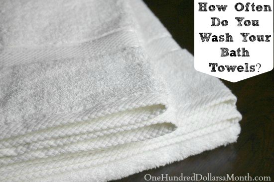 How Often Do You Wash Your Bath Towels?